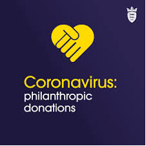 Coronavirus Philanthropic Donations